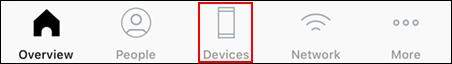 imagen de la barra de navegación, con los equipos resaltados