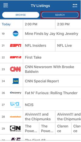 TV Listings Guide