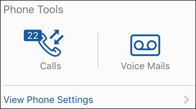 Cox Connect App Phone Tools card