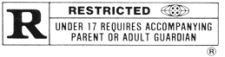Image of Restricted rating
