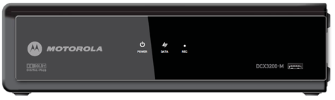 Click for full-size image of the DCX3200-M HD receiver.