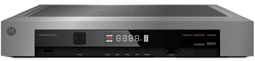 Motorola DCH3416 HD DVR receiver front view