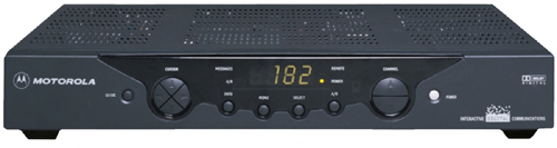 Click for full-size image of the DCT2000 digital receiver.