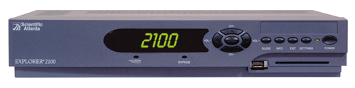 image of Scientific Atlanta Explorer 2100 digital receiver