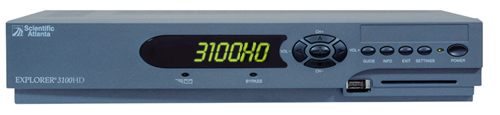 Click for full-size image of the Explorer 3100HD HD receiver.