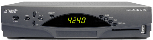 Click for full-size image of the Explorer 4250 digital receiver.