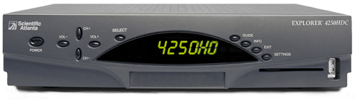 Click for full-size image of the Explorer 4250HDC HD receiver.