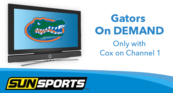 Florida Gators and Cox