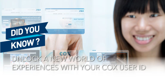 Benefits of a Cox User ID