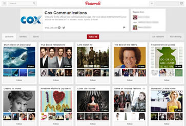 Cox TV on Pinterest