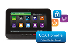 Touchpad for monitoring you home on smartphone and tablet