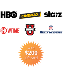 $200 Gift Card burst and Advanced TV Premier