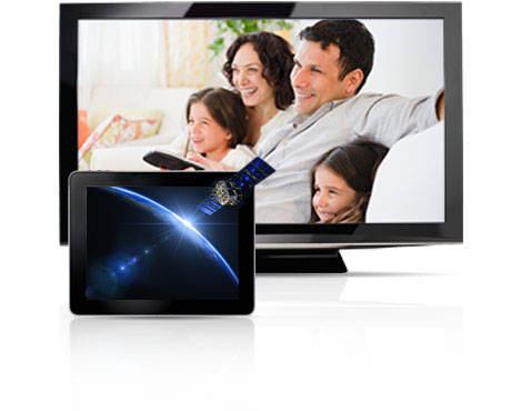 A family enjoying Cox Advanced TV