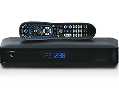 TV Equipment with Remote