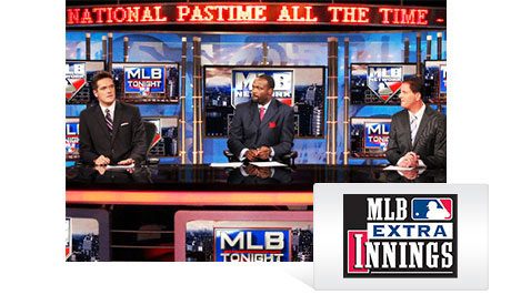 Official MLB extra innings logo