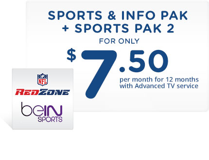 Sports and Information Pak on TV, tablet and smartphone